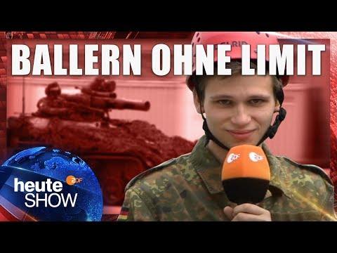 Soldat für einen Tag: Fabian Köster bei der Bundeswehr | heute-show vom 26.05.2017