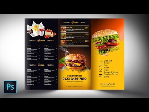 Photoshop Tutorials | Flyers Design | Brochure Design | Menu Design | By PROEML GRAPHIC
