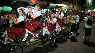 Oktoberfest Blumenau - 1° desfile parte 4 [ HD ]