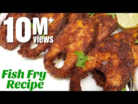 Fish Fry Recipe   Simple and Delicious Fish Fry   How to make fish fry   Hyderabadi Ruchulu
