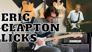 Eric Clapton Licks For Each Pentatonic Position - Blues Rock Guitar Lesson