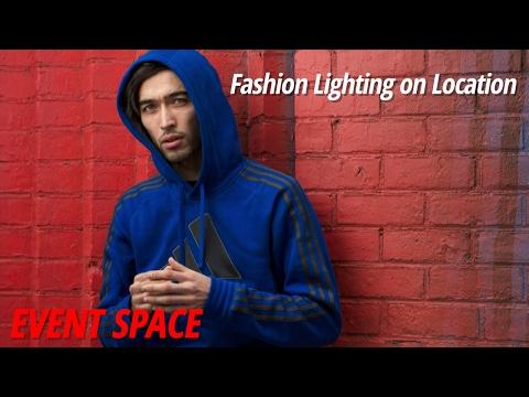 Fashion Lighting on Location