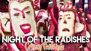 NIGHT OF THE RADISHES | STRANGE FESTIVAL OAXACA CITY MEXICO