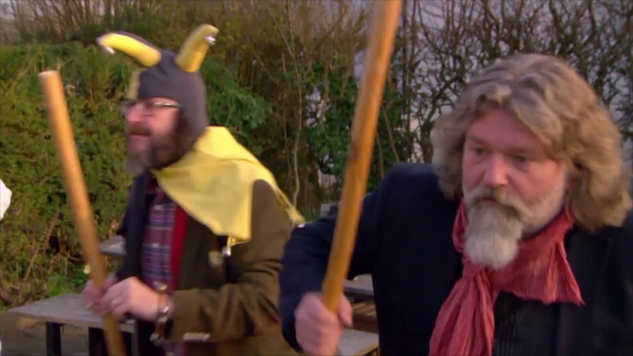 the hairy bikers trailer - youtube