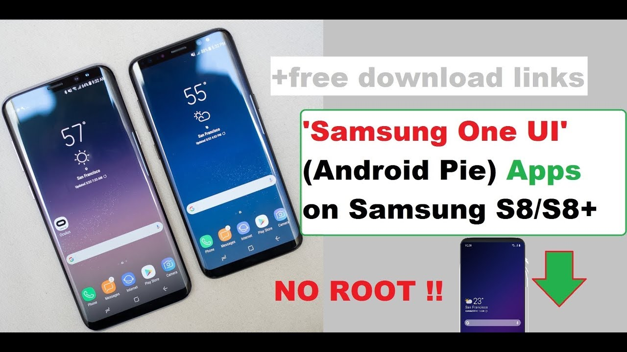 Android Pie: Android Pie Galaxy S8 Download