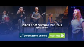 2020 Virtual Recitals for Students: The 4PM Performance