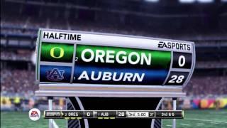 2011 BCS National Championship Simulation (Oregon vs. Auburn)