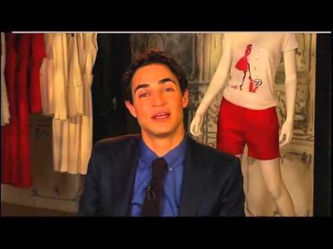 Jamesthemovieman's Satellite interview with Fashion Designer Zac Posen.wmv