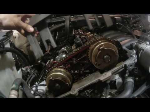 Регулировка фаз грм BMW Vanos двигатель N52 , Ремонт мотора БМВ