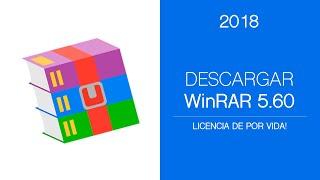 DESCARGAR WINRAR 5.60 + LICENCIA PAGADA DE POR VIDA | 32/64 Bits | Abril | 2017