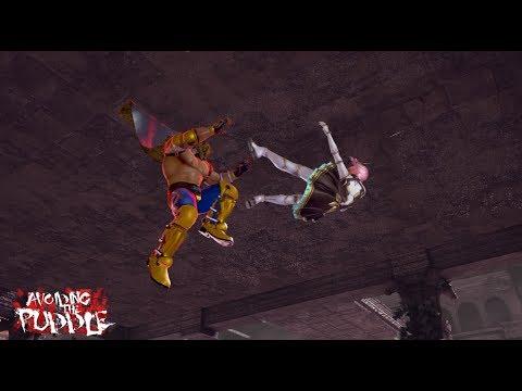 In the Tekken 7 Lab with King - Exploring Floor Break Options