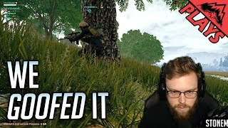 WE GOOFED - PlayerUnkown's Battlegrounds Gameplay #105 (PUBG First Person Squads with Mountaineers)