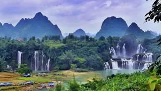 Video Ban Gioc–Detian Falls, beautiful waterfall at the border between China and Vietnam download MP3, 3GP, MP4, WEBM, AVI, FLV Juli 2018