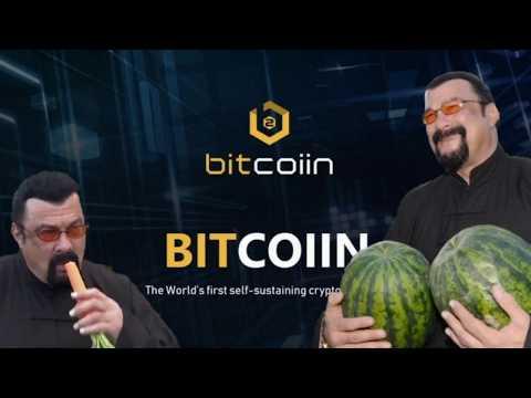 Стивен Сигал продвигает сомнительное ICO Bitcoiin2Gen