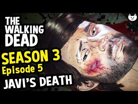 Javier's Death Scene Secret Easter Egg - The Walking Dead Season 3 Episode 5