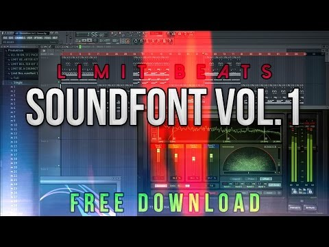 how to add soundfonts to fl studio