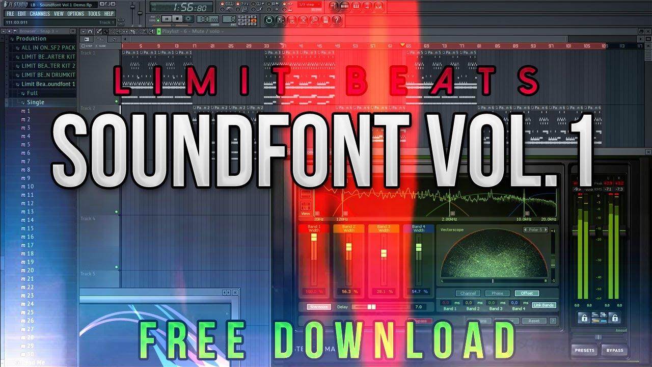 Best Soundfont For Beats Production | Limit Beats Soundfont Vol 1