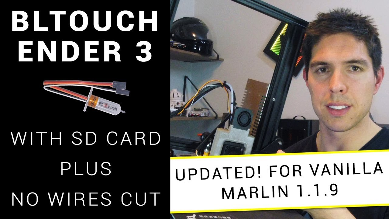 Ender 3 – Firmware flash and BLTOUCH – Deviousweb