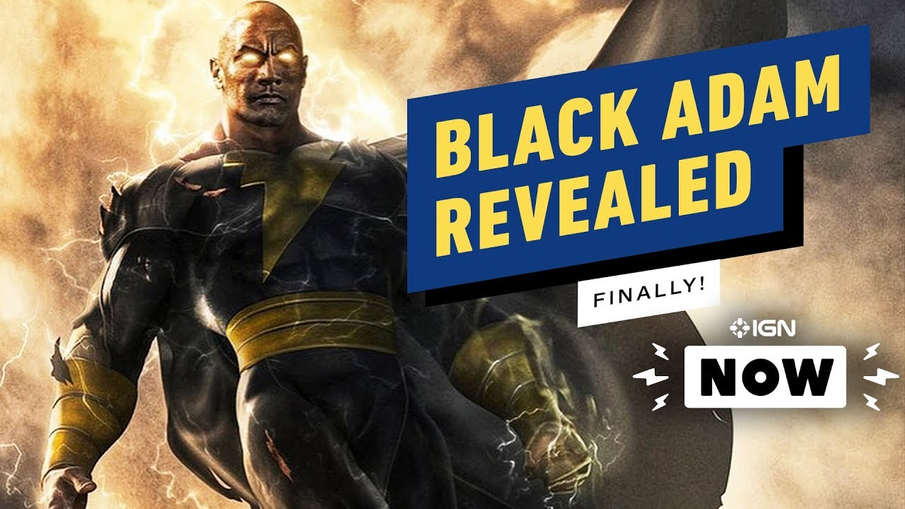 The Rock's Black Adam Costume Revealed