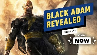 Dwayne 'The Rock' Johnson Reveals First Look at Black Adam, Release Date - IGN Now