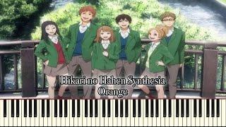 Hikari No Hahen [Soft Version] - Orange OP (Synthesia Piano Solo)