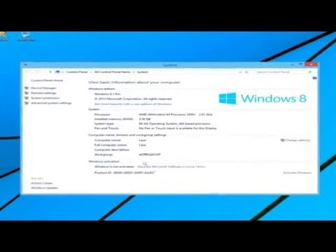 Windows 8.1: Reset To Factory Settings and Remove Personal Data.