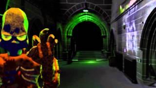 3D sprite test:  Flying Zombie Torso