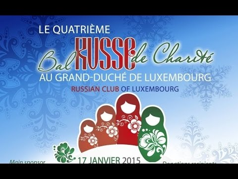 4th Russian Charity Ball In Luxembourg 17.01.2015