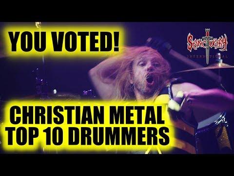 Top 10 Christian Metal Drummers