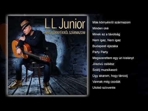 L.L. Junior - Más környékről származom (teljes album) letöltés