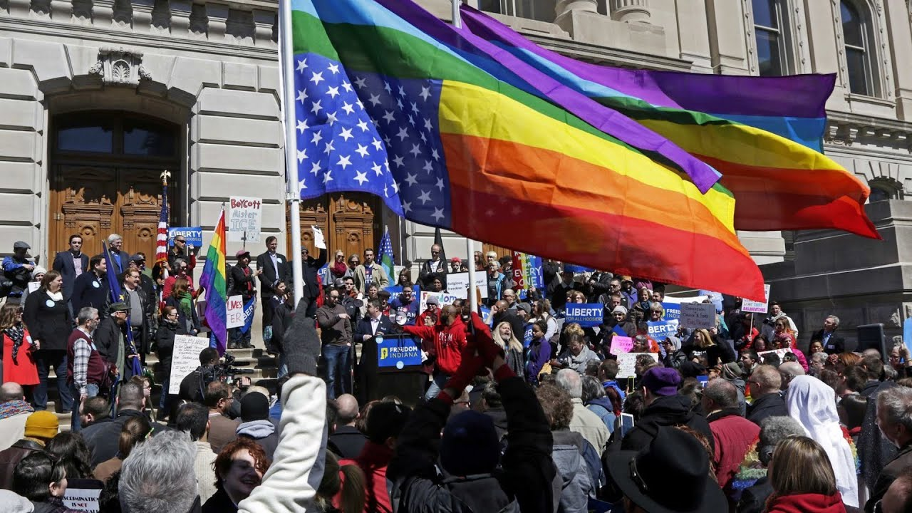 Indiana Faces Boycotts, Protests over Anti-LGBT Religious Freedom Law
