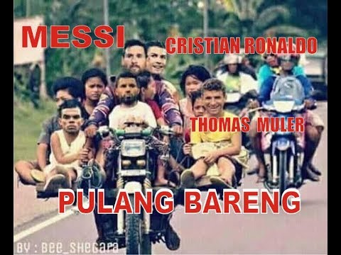 Messi Vs Cristian Ronaldo Pulang Kampung Youtube