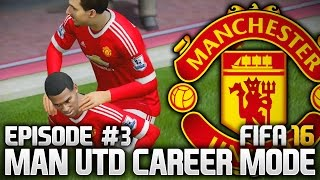 ANOTHER YOUNG STAR?! MAN UTD CAREER MODE - EPISODE #3 (FIFA 16)