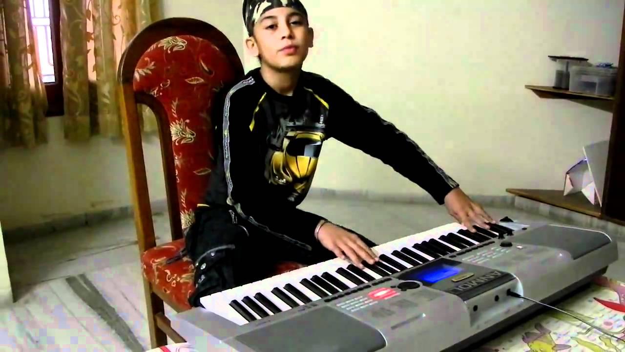 Meri Maa On Piano