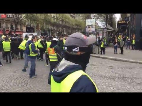 Gilets Jaunes acte 18 RÉSILIENTS France 16.03.2019 #GiletsJaunes #YellowVests