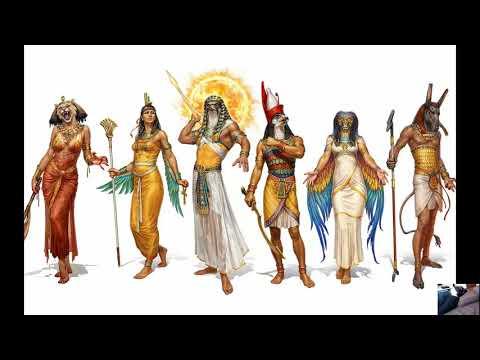 Боги Древнего Египта и пирамиды Начало Ченнелинг