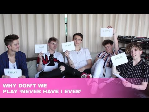 Why Don't We Play Never Have I Ever | United By Pop