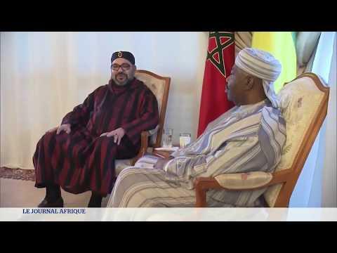 Gabon : premières images d'Ali Bongo, hospitalisé au Maroc