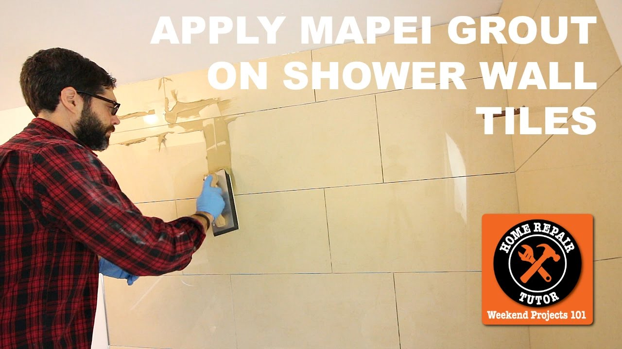 How to Apply Mapei Grout (Keracolor U) on Shower Wall Tiles (Step-by-Step)