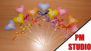 Сердце - подарок на День Святого Валентина своими руками
