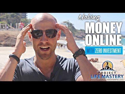 Making Money Online With ZERO Investment