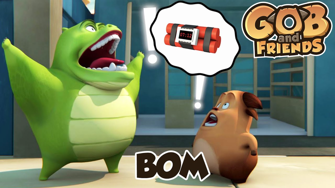 Gob and Friends -  BOM   Kartun Anak Lucu
