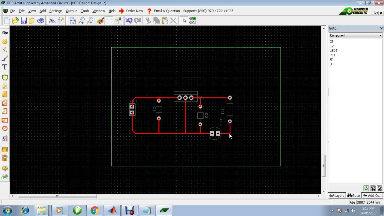 How to Design PCB Layout using PCB Artist Software - YouTube