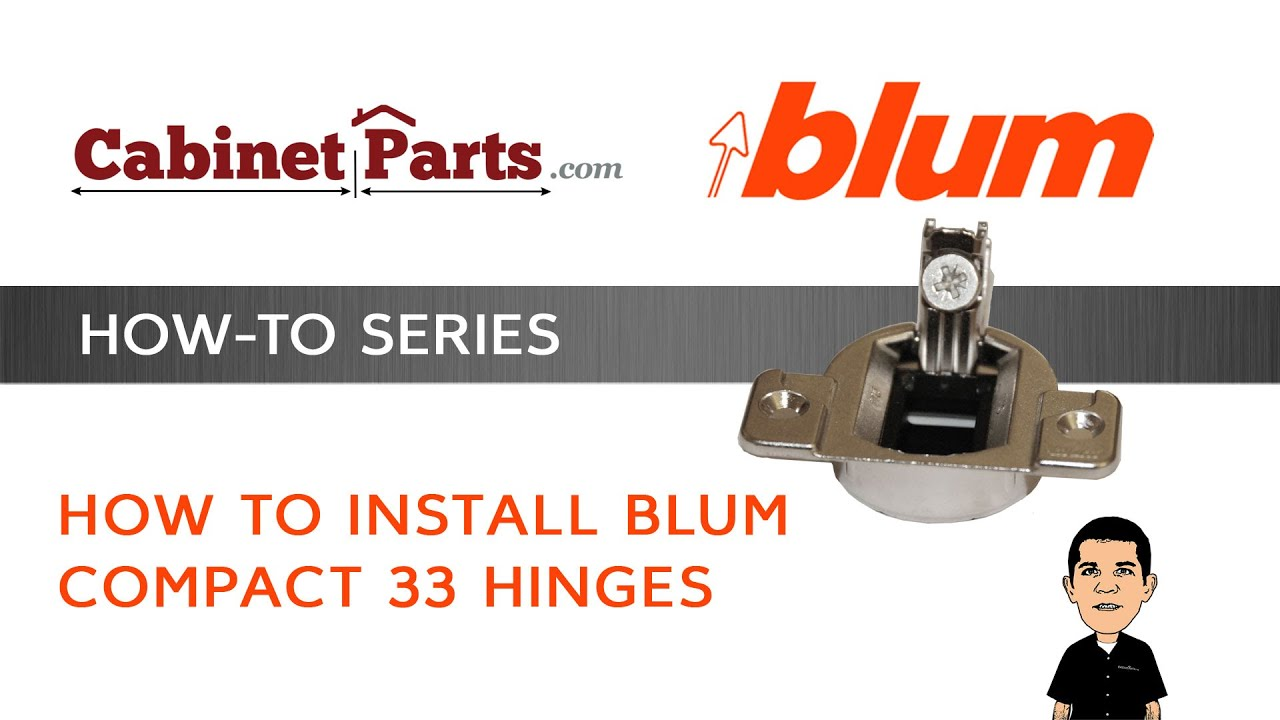 Blum Compact 33 How To Install And Adjust A Blum Compact