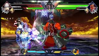Awesome ending to an awesome fight - BLAZBLUE CROSS TAG BATTLE