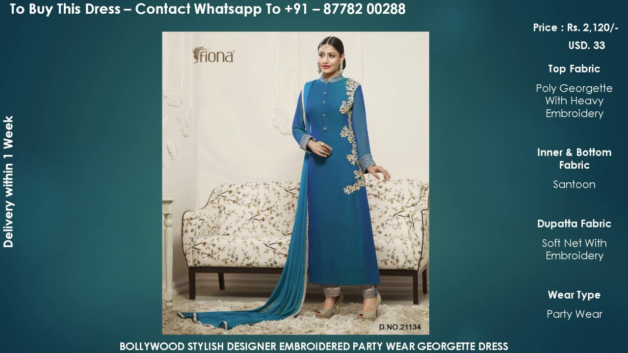 Buy Online dress - Latest Beautiful Embroidered Heavy Work Anarkali ...