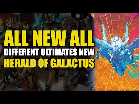 Galactus Creates A New Herald (Civil War 2 Tie In/ANAD Ultimates Vol 2: Omniversal)