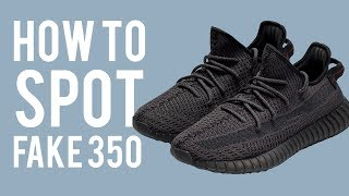 HOW TO SPOT FAKE YEEZY 350 V2
