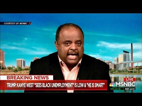 Roland Martin Talks Trump, Black Unemployment, Kanye, Chance The Rapper Tweet About Blacks & Dems