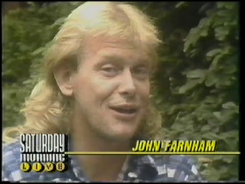 John Farnham - Saturday Morning Live Interview